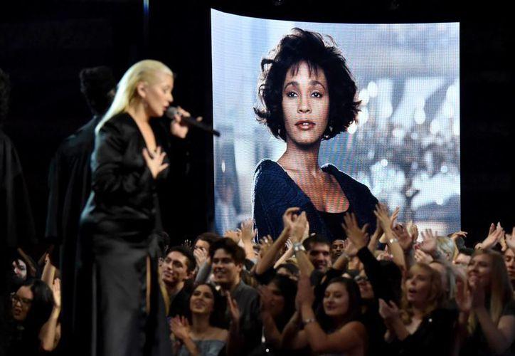 La cantante durante su presentación en los American Music Awards (AMAs) 2017. (Jeff Kravitz/AMA2017)
