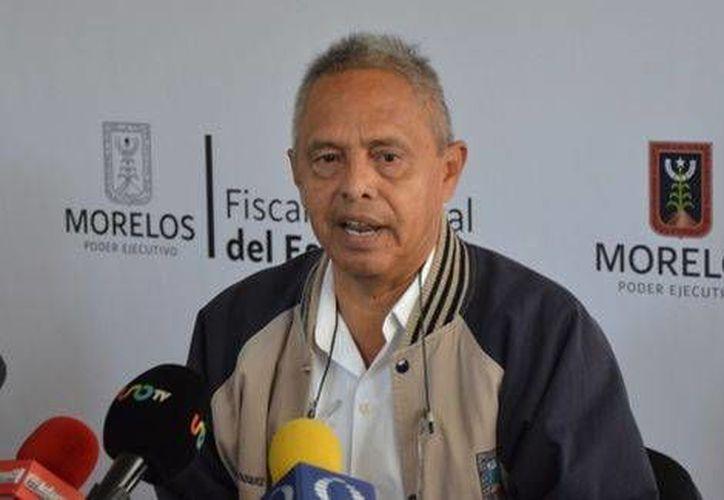 Samuel Nava Vázquez, coordinador general de Servicios Periciales de la FGE, informó que se han encontrado 35 cuerpos en la fosa de Jojutla. (Milenio)