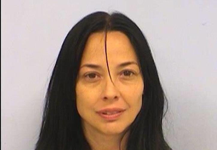 Dara Llorens fue encarcelada en Texas por el secuestro de su hija Sabrina Allen. (AP)