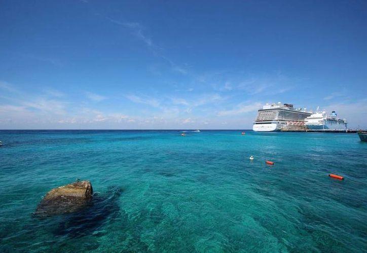 Para este año Cozumel espera recibir mil 256 cruceros. (Gustavo Villegas/SIPSE)
