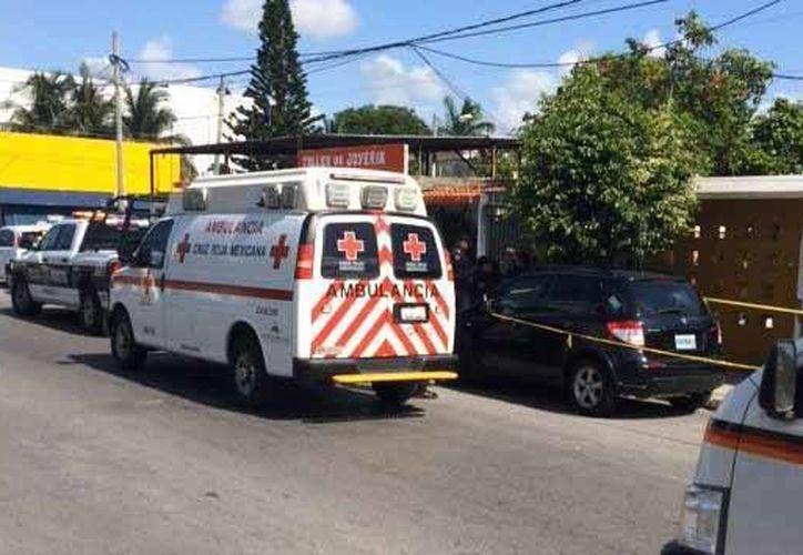 Los hechos ocurrieron durante la mañana de hoy en un domicilio de Cancún.(Redacción/SIPSE)