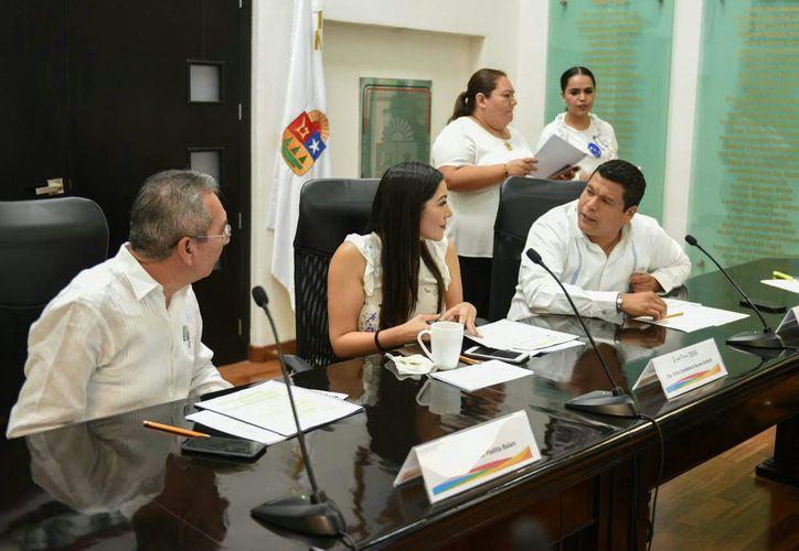 Fernando Zelaya Espinoza, se reintegró a la XV Legislatura del Congreso del Estado este viernes. (Benjamín Pat/SIPSE)