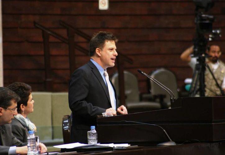 El diputado Fernando  Belauzarán Méndez.(edomexaldia.com.mx)
