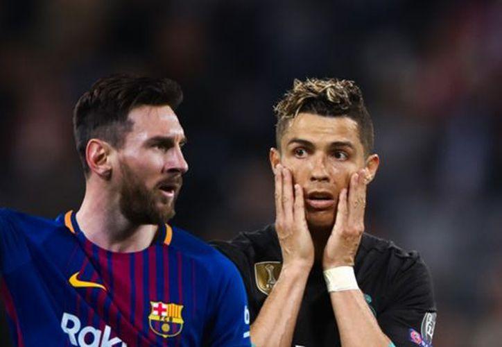 """""""Fue una rivalidad muy sana. Los dos queríamos superarnos día a día y dar lo mejor"""", dijo Messi.  (Internet)"""