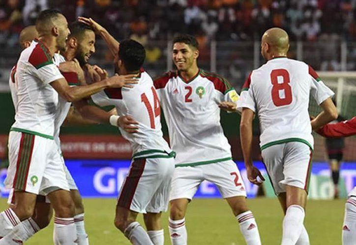 Marruecos se une por África a las selecciones de Egipto, Senegal y Nigeria que participarán en la justa mundialista. (Foto: AFP)