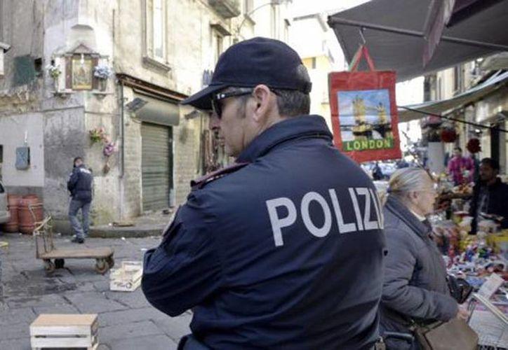 Los investigadores consideran que el objetivo del tiroteo sería un comerciante del mercado. (twitter.com/ItalianInsider1)
