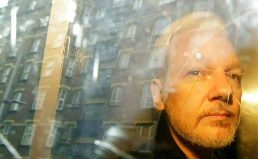 El fundador de WikiLeaks, de 47 años, fue expulsado el 11 de abril de la embajada ecuatoriana en Londres. (AP Foto/Matt Dunham, File)