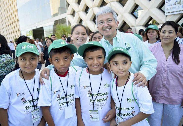En el Campamento Recreativo de Niñas, Niños y Adolescentes DIFusores de sus Derechos 2015, convivirán niños de varios municipios.  (José Acosta/Milenio Novedades)