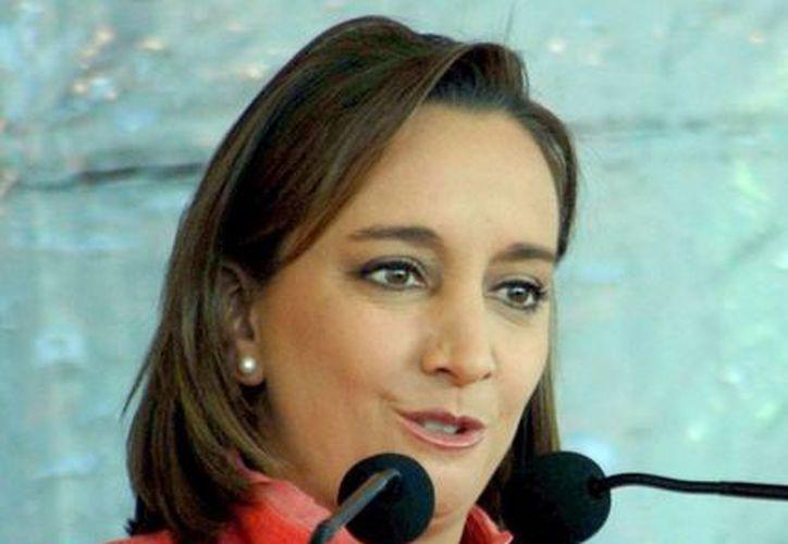 La secretaria de Turismo de México, Claudia Ruiz Massieu, participará en eventos en Londres. (SIPSE/Archivo)