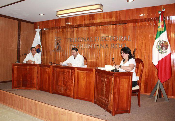 Los magistrados están acusados del presunto plagio de una sentencia de la autoridad jurisdiccional. (Foto: David de la Fuente)