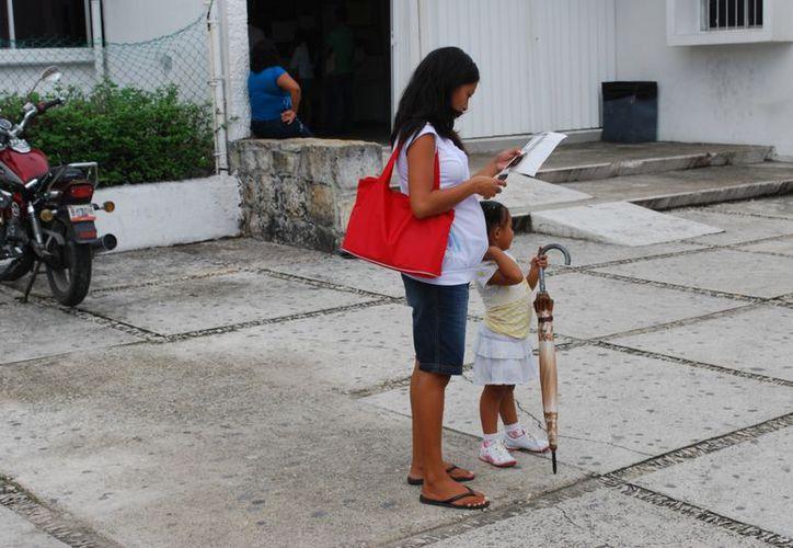 El estado tiene una posición por encima de Guerrero y Chiapas, entidades con la mayor tasa de natalidad de mujeres en edad reproductiva. (Tomás Álvarez/SIPSE)