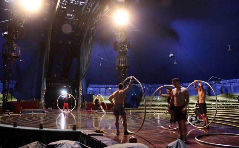 Inicia ensayos finales cirque du soleil en m rida inicia for Novedades del espectaculo