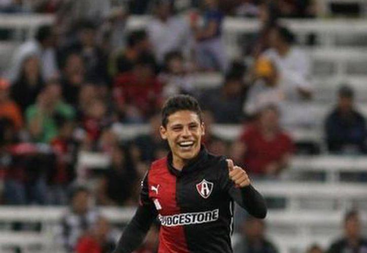 Arturo González, Ponchito, anotó para que Atlas ganara 1-0 al Mineiro. Ahora el equipo jalisciense debe ganar 4-0 en su último partido para poder acceder a la siguiente ronda. (elnuevoherald.com)