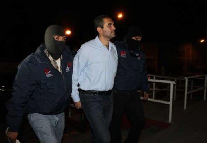 El exalcalde de Apatzingán, Uriel Chávez Mendoza, fue detenido en abril acusado de los delitos de extorsión y homicidio. (quadratin.com.mx)