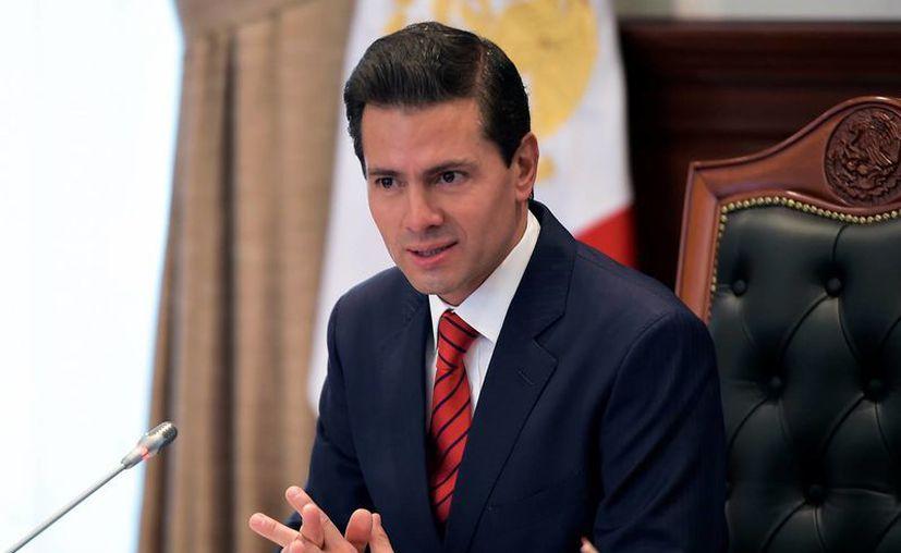 Peña Nieto dará un mensaje a la nación el próximo lunes. (Presidencia)