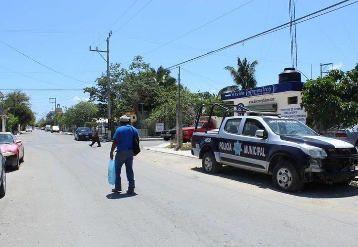 Servicios Públicos ha sido informado para realizar la reparación de luminarias de las calles donde hay más incidencia de hechos delictivos. (Sara Cauich/SIPSE)