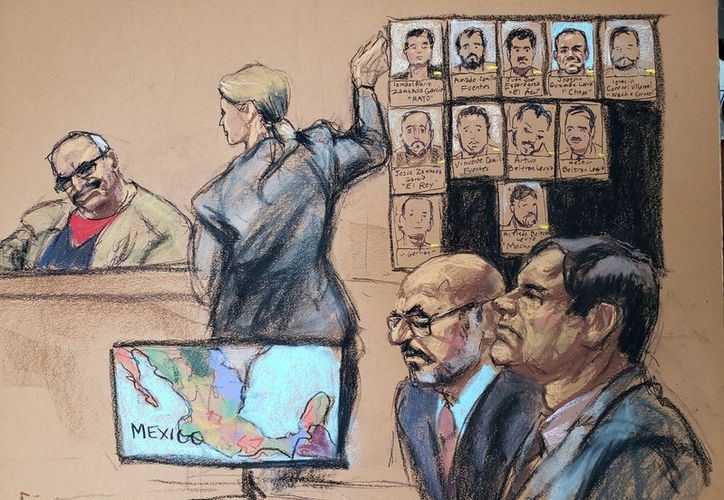 Este martes se realizó la audiencia 25 del juicio de El Chapo, en Estados Unidos. (Reuters)