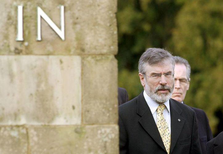 Gerry  Adams ha negado su implicación en el crimen. (Archivo/EFE)