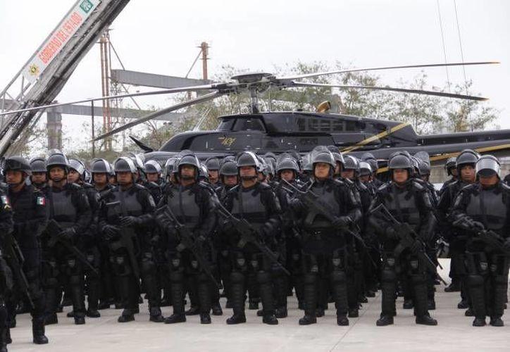 Por cada 100 mil habitantes hay 366 elementos policiales en el Estado. (Redacción/SIPSE)