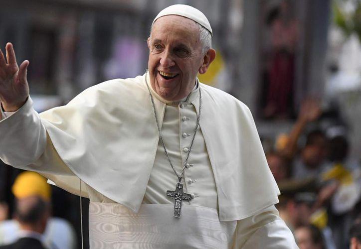La reunión del Pontífice, de visita en Chile hasta el jueves, se realizó durante la tarde en la Nunciatura Apostólica de Santiago. (Foto: El Comercio)
