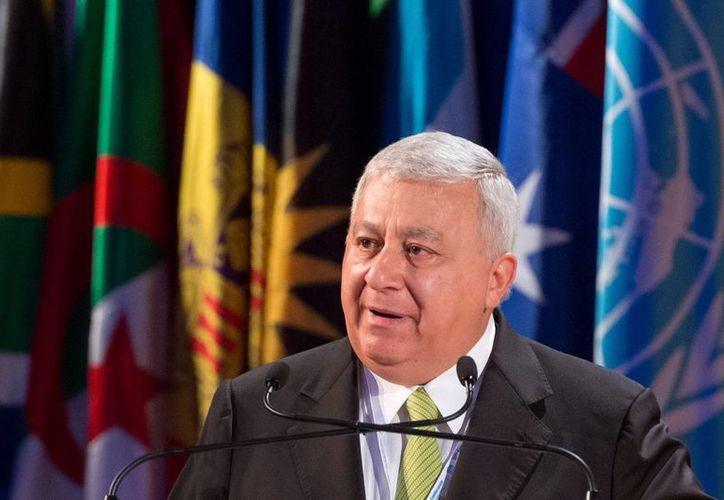 El funcionario participó este jueves en el pleno de la 37 Conferencia General de la Organización de Naciones Unidas para la Educación, la Ciencia y la Cultura. (Notimex)