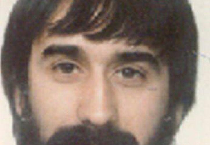 El presunto miembro de ETA Joseba Gotzov Vizán González, alias Potxolín, prófugo desde 1991 tras la desarticulación del comando Vizcaya de ETA. (EFE)