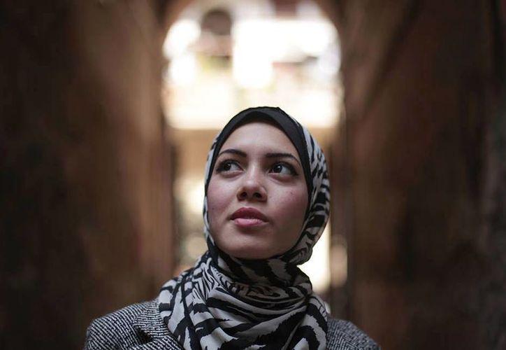 Myam Mahmoud no ganó en el programa de televisión, pero colocó en el candelero el tema de los derechos de la mujer en el mundo árabe. (Facebook/Myam Mahmoud)