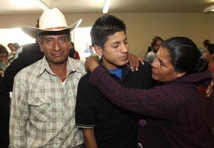 Al menos 76 de esos menores fueron atendidos por el módulo de tránsito en la estación migratoria de Juchitán. (Archivo SIPSE)