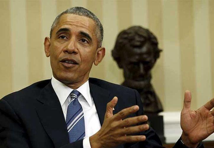 Los conservadores de EU presionan al presidente Obama para que aborde en Cuba la crisis de derechos humanos. (Archivo/Agencias)