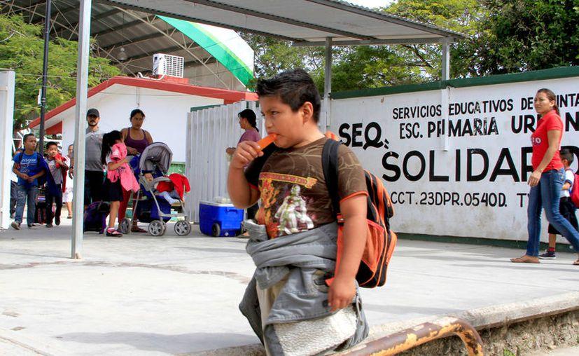 Para tener un ambiente tranquilo en las escuelas, la SEyC maneja los marcos de convivencia.