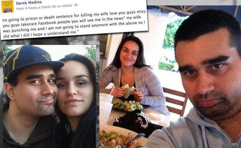 Derek Medina asesinó a su esposa y divulgó en Facebook la imagen del cadáver. (Archivo/SIPSE)