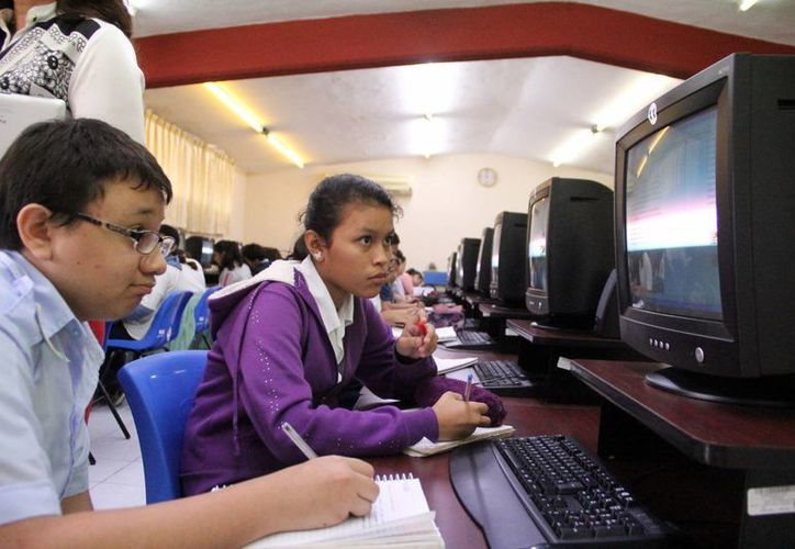 Se proyecta hacer una cobertura total en todas las escuelas de la entidad en el nivel básico. (Milenio Novedades)