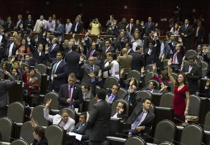 Tras la aprobación en la Cámara de Diputados (foto), la Ley de Ingresos será revisada por los senadores. (Notimex)
