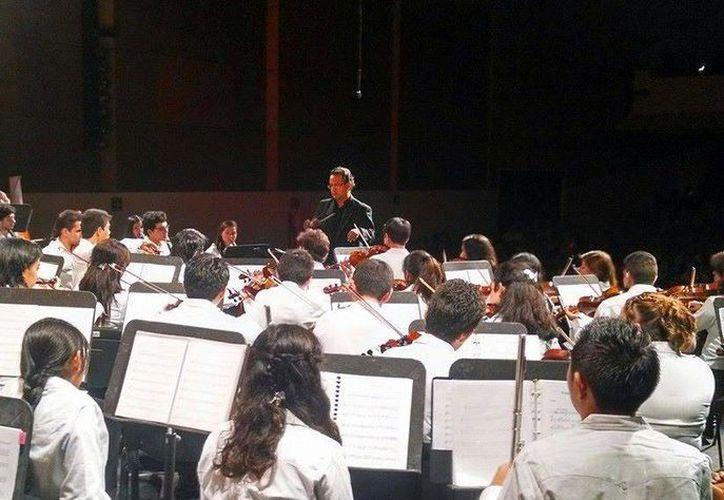 Durante el Encuentro Estatal de Orquestas 2015 el repertorio será de temas de películas. (Redacción/SIPSE)