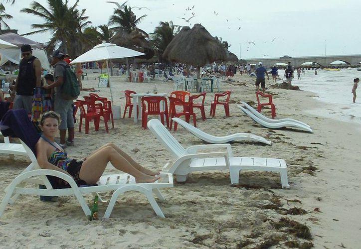 La industria turística de Progreso resultará severamente afectada. (Manuel Pool/SIPSE)