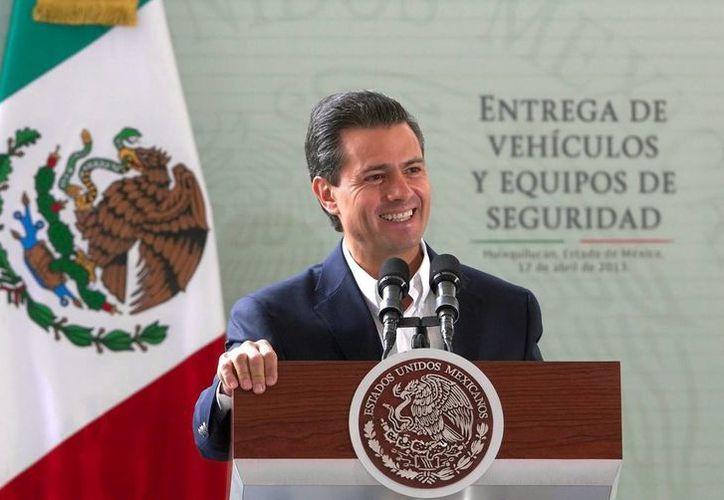 El Presidente de México destacó la lealtad y la conducta patriótica que durante años ha demostrado la Marina Armada de México, lo que la hace ser -dijo- una de las instituciones más respetada, admirada y querida por la sociedad. (Archivo Notimex)