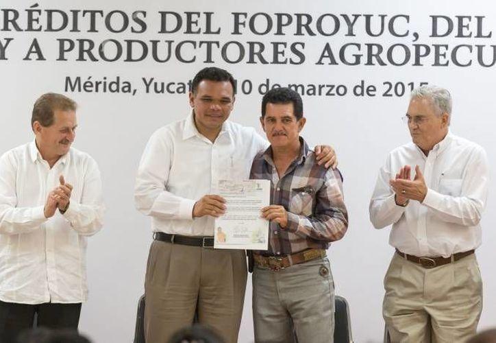 El gobernador Rolando Zapata estará este sábado en el Centro de Convenciones Siglo XXI. (SIPSE)