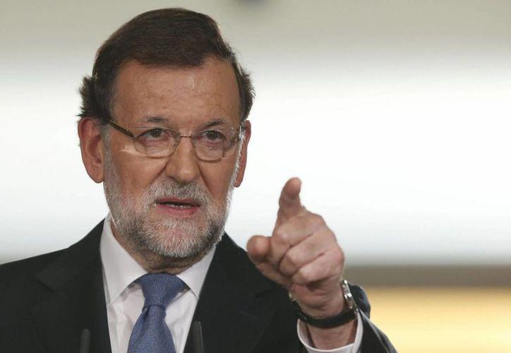 Rajoy pidió no adelantar pronósticos electorales antes de tiempo. Las elecciones generales en España están programadas para el mes de noviembre. (EFE)