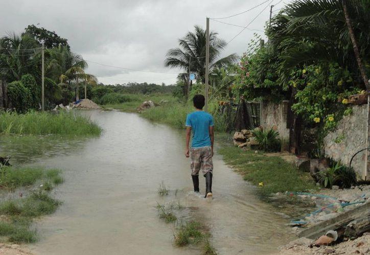 Buscan evitar los asentamientos  de poblaciones en zonas irregulares como orillas de ríos o lagunas, ante su posible derbordamiento. (Archivo/SIPSE)