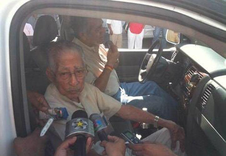La Quina dijo que solicitará una audiencia con el gobernador de Tamaulipas,  Egidio Torre Cantú. (Milenio)