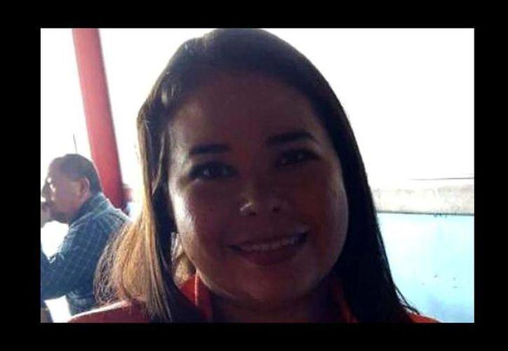 Rosario de Fátima Alemán Pérez, quien obtuvo el primer lugar en la evaluación de desempeño docente a nivel preescolar, imparte clases a 12 alumnos en el jardín de niños 'Sor Juana Inés de la Cruz'. (Fátima Alemán)