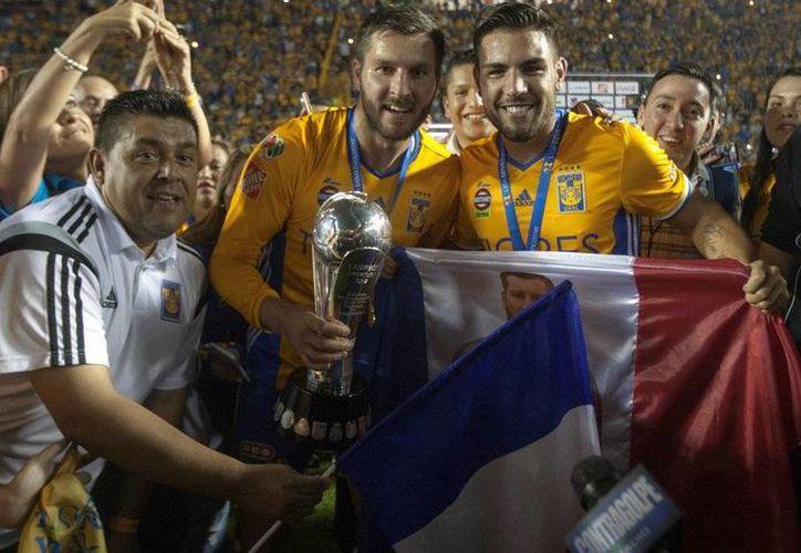 Andy Delort es nuevo refuerzo del Toulouse de Francia. Jugó pocos minutos para Tigres de la UANL, en México, pero fue campeón. (Twitter: @AndyDelort9)