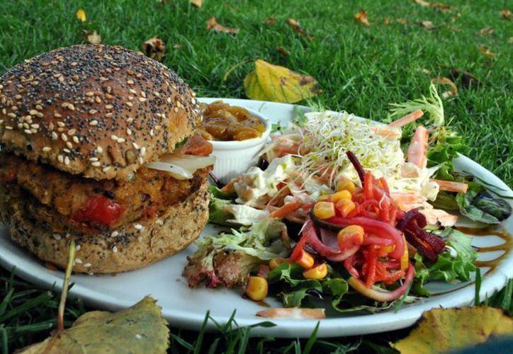 El festival promueve el consumo de una dieta libre de productos animales. (Foto: Contexto)