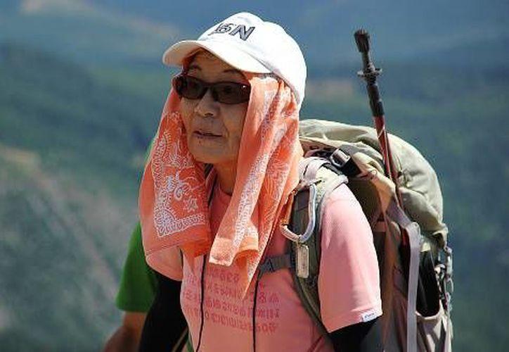 La escaladora murió a las 77 años, víctima del cáncer, enfermedad que padecía desde hace algunos años. (Binod Joshi/AP)