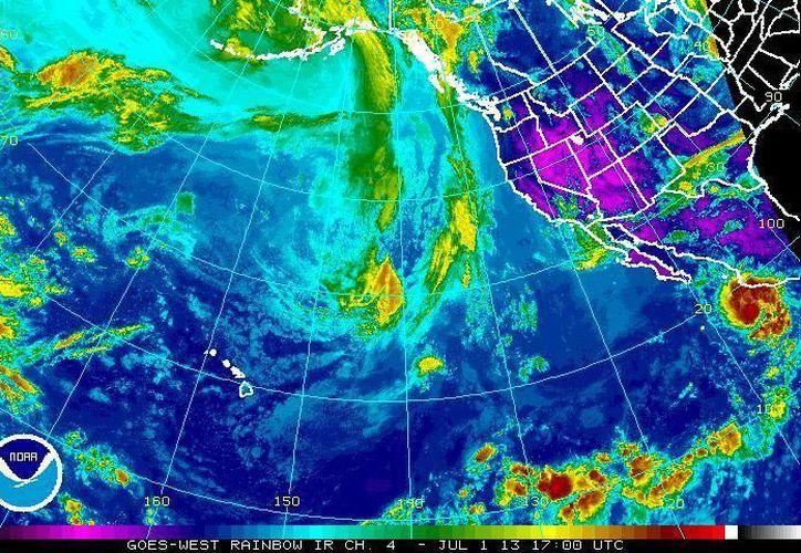 Dalila podría convertirse en un huracán categoría 1 en la escala Saffir-Simpson. (ssd.noaa.gov/Archivo)