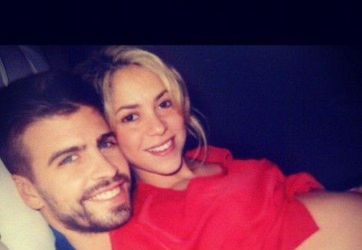 Shakira y Piqué disfrutando su embarazo. (@Shakira)