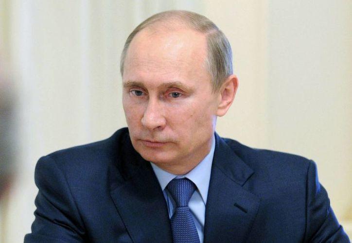 El presidente ruso, Vladimir Putin es un candidato a recibir el Premio Nobel de la Paz 2014. (Agencias/Archivo)