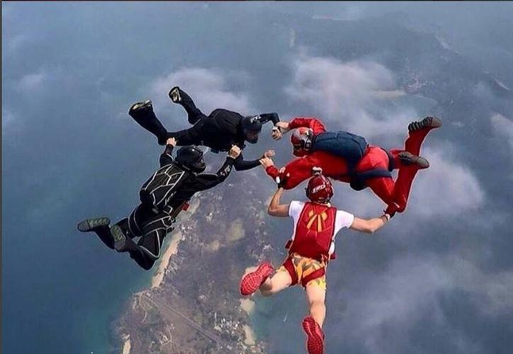 Fallece paracaidista mexicano. (Foto: pepesislandboogie/Instagram)
