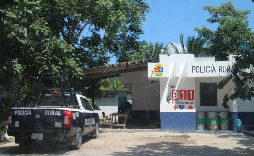 La poca efectividad de la policía no es un hecho aislado, es un hecho que se da en toda la zona rural de Bacalar. (Carlos Castillo/SIPSE)