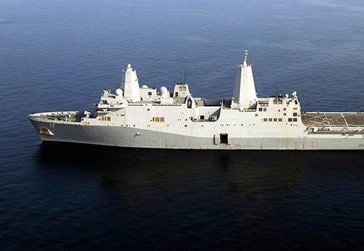 Varios buques de guerra de EU y Francia se encuentran en el área. (actualidad.rt/navy.mil)